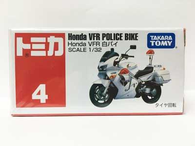 トミカ 4 Honda VFR 白バイ
