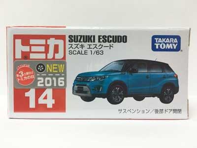 トミカ 14 スズキ エスクード(新車シール付) TMC00607