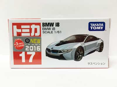 トミカ 17 BMW i8