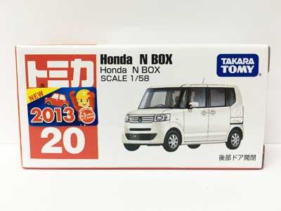 トミカ 20 Honda N BOX(新車シール付)(中国製) TMC00176
