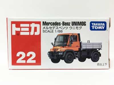 トミカ 22 メルセデスベンツ ウニモグ TMC00516