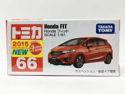 トミカ 66 Honda フィット(新車シール付) TMC00415