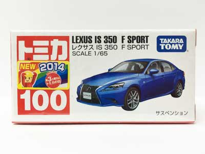 トミカ 100 レクサス IS 350 F SPORT(新車シール付)TMC00426