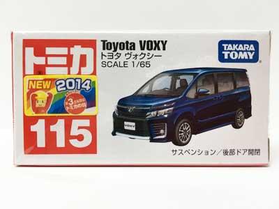 トミカ 115 トヨタ ヴォクシー(新車シール付) TMC00228