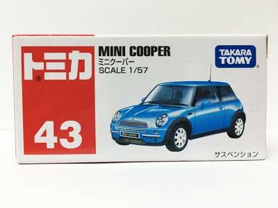 トミカ 43 ミニクーパー TMC00258