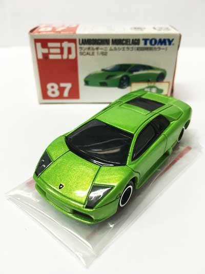 トミカ 87 ランボルギーニ ムルシエラゴ(初回特別カラー) TMC00523