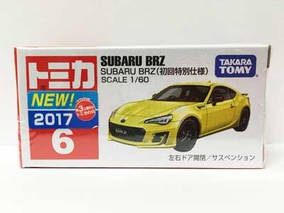 トミカ 6 SUBARU BRZ(初回特別仕様) TMC00448