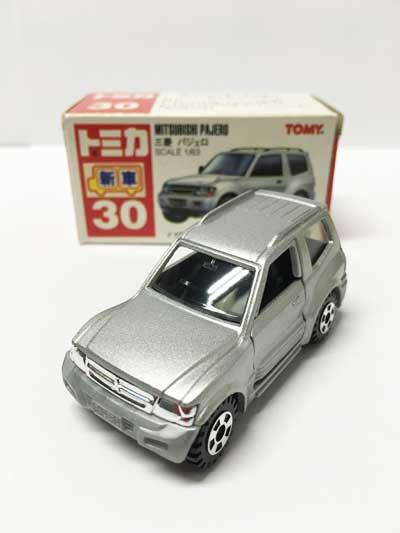 トミカ 30 三菱 パジェロ(日本製) TMC00534