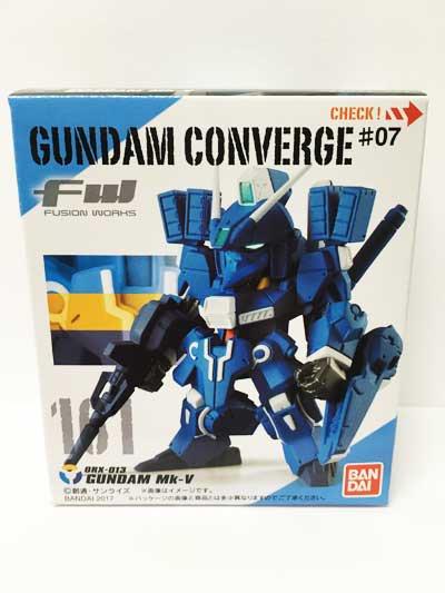 バンダイ FW ガンダムコンバージ#7 161 ガンダムMk-V GUNDAM CONVERGE CV0046