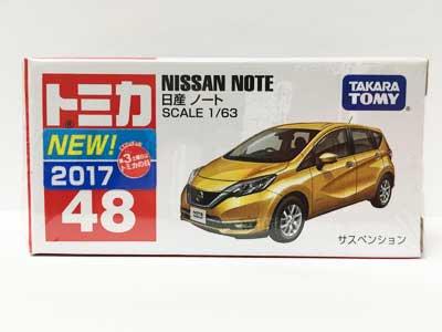 トミカ 48 日産 日産ノート(新車シール付き) TMC00610