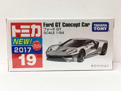 トミカ 19 フォード GT(新車シール付) TMC00716