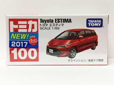 トミカ 100 トヨタ エスティマ(新車シール付き) TMC00635