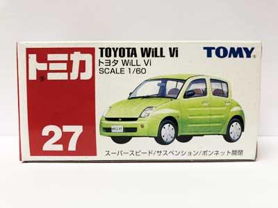 トミカ 27 TOYOTA WiLL Vi(中国製) TMC00518