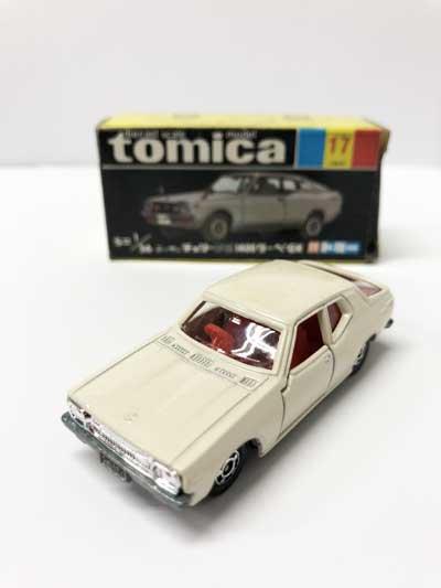 トミカ NO.17 ニッサン チェリーF-II1400 クーペGX 黒箱