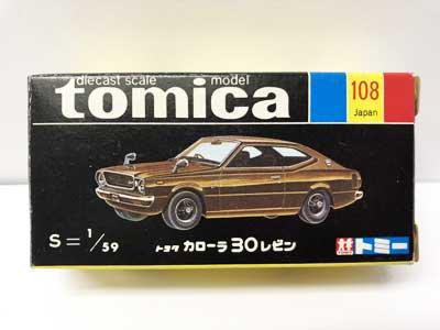 トミカ 108 トヨタ カローラ 30レビン 黒箱 TMC00529 2枚目