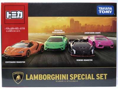 タカラトミー トミカギフト ランボルギーニスペシャルセット TMC00574