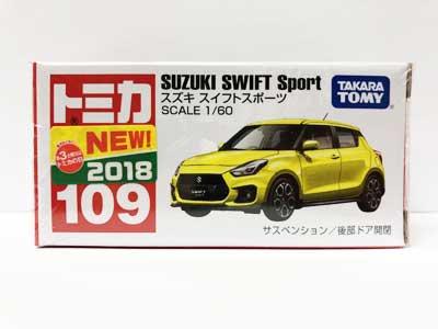 トミカ 109 スズキ スイフトスポーツ(新車シール付) TMC00764