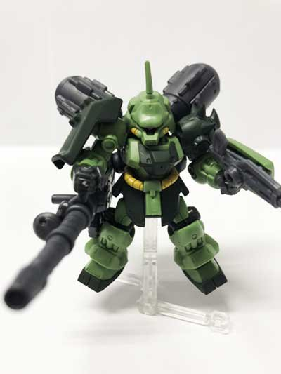 バンダイ 機動戦士ガンダム MOBILE SUIT ENSEMBLE 07 ギラ・ドーガ&MS武器セット GU0014