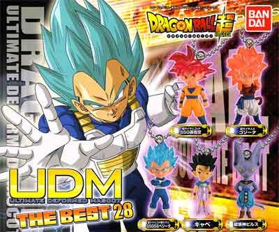 バンダイ ドラゴンボール超UDM THE BEST 28 全5種フルセット UDM00156
