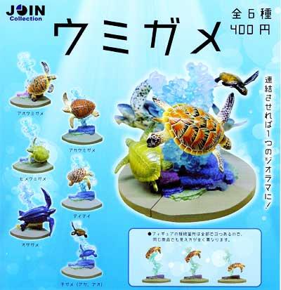 クオリア JOIN Collection ウミガメ 全6種フルセット TC0080