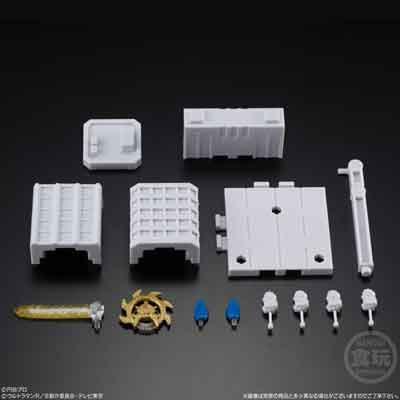 バンダイ 超動ウルトラマン2 全6種フルセット US0011 1枚目