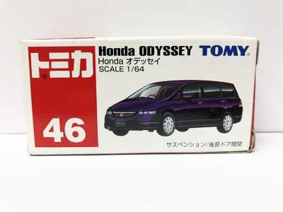 トミカ 46 Honda オデッセイ(中国製)TMC00202