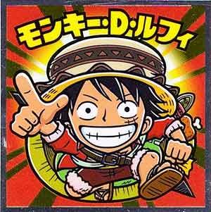 ロッテ ワンピースマンチョコ 20th ANNIVERSARY 01 モンキー・D・ルフィ