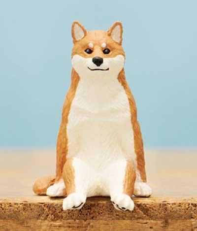 キタンクラブ 座る犬 シバ TC0162