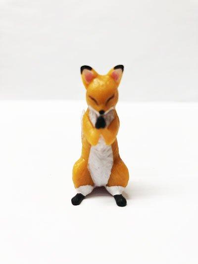 関西限定 エール 狐ーきつねー 合掌外伝 狐(橙小) TC00213