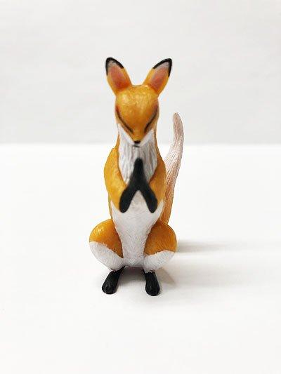 関西限定 エール 狐ーきつねー 合掌外伝 狐(橙大) TC00216