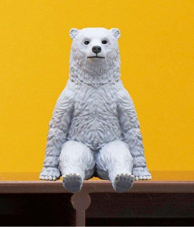 キタンクラブ 座る熊 ハイイロ TC0249