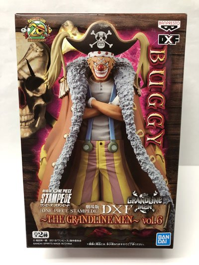 ONE PIECE STAMPEDE DXF THE GRANDLINE MEN vol.6 バギー OPZ0117
