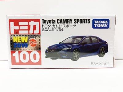 トミカ 100 トヨタ カムリ スポーツ