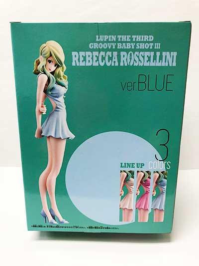 ルパン三世 GROOVY BABY SHOT 3 REBECCA.ROSSELLINI ver.BLUE レベッカ・ロッセリーニ(ドレス青)OPZ0139