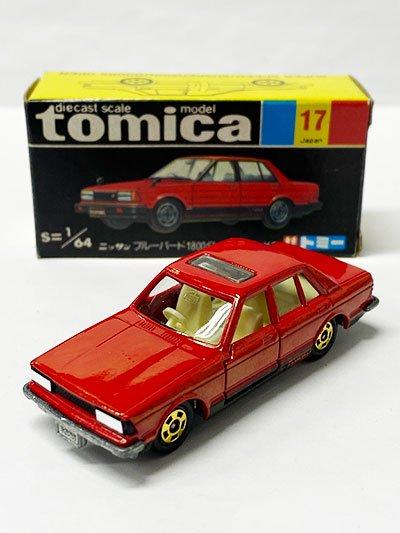 トミカ 17 ニッサン ブルーバード 1800ターボSSS-XG 黒箱 TMC00680
