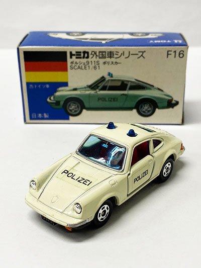 トミカ F16 ポルシェ911S ポリスカー 青箱 TMC00687