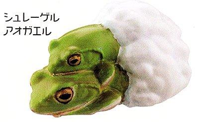 海洋堂 カプセルQミュージアム 財布にカエル「お財布蛙2」 シュレーゲルアオガエル KG00119