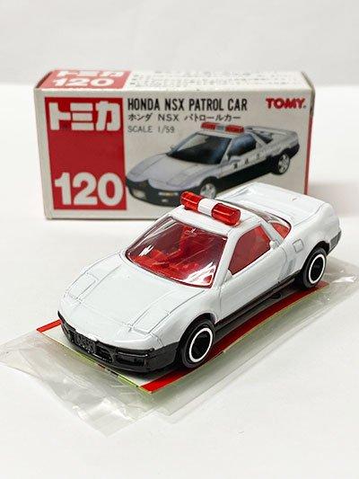 トミカ 120 ホンダ NSX パトロールカー 赤箱(中国製) TMC00706