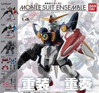 バンダイ 機動戦士ガンダム MOBILE SUIT ENSEMBLE 14 全5種フルセット モビルスーツアンサンブル GU0046