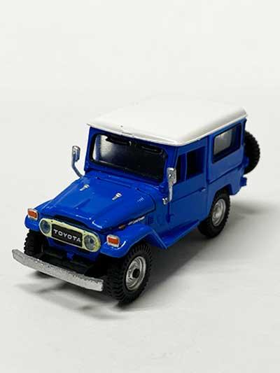 システムサービス ランドクルーザー FJ40(1/64スケール) ブルー TC00515