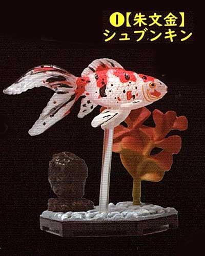 ビーム 金魚立体図鑑 フル彩色フィギュア  朱文金(シュブンキン) TC00531