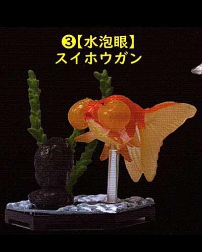 ビーム 金魚立体図鑑 フル彩色フィギュア  水泡眼(スイホウガン) TC00522