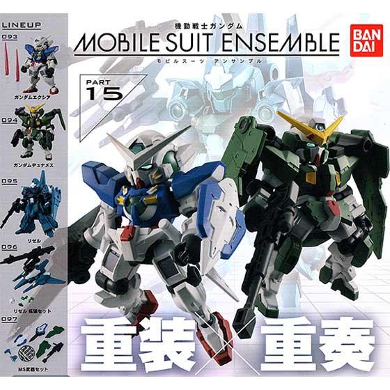 バンダイ 機動戦士ガンダム MOBILE SUIT ENSEMBLE 15 モビルスーツアンサンブル  全5種フルセット GU0054