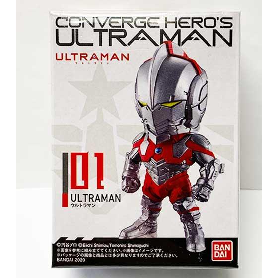 バンダイ CONVERGE HERO'S ULTRAMAN 01 ULTRAMAN BS0275 1枚目