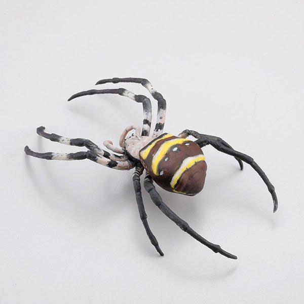 海洋堂 カプセルQミュージアム 日本の蜘蛛ストラップコレクション クモコレ! コガネグモ KG00565 1枚目