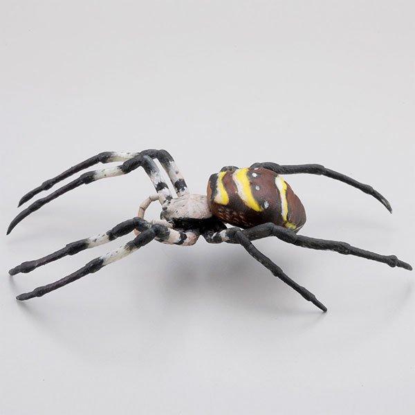 海洋堂 カプセルQミュージアム 日本の蜘蛛ストラップコレクション クモコレ! コガネグモ KG00565 2枚目