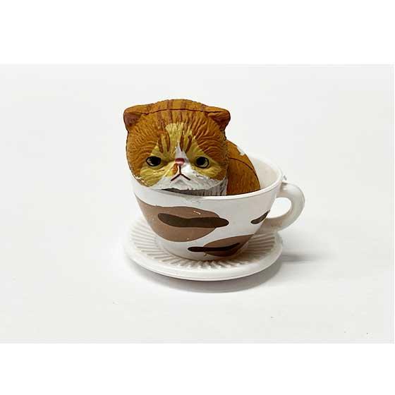 タカラトミーアーツ 猫カップ エキゾチック 茶トラ TC00728