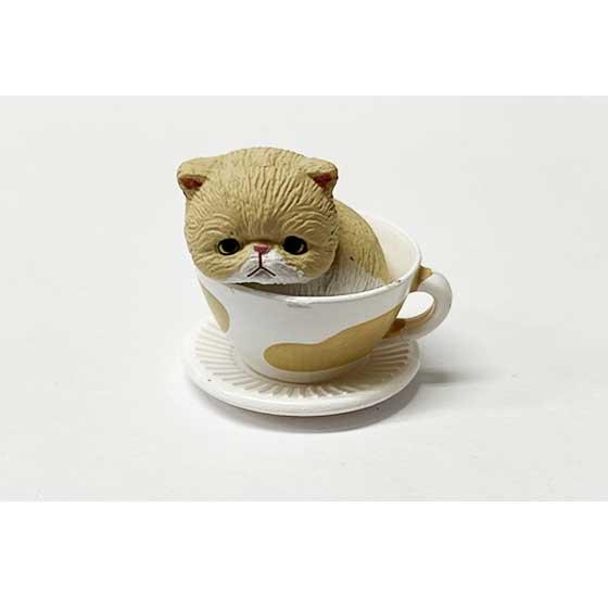 タカラトミーアーツ 猫カップ エキゾチック クリーム TC00729