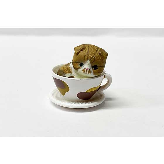 タカラトミーアーツ 猫カップ スコテッシュフォールド 茶トラ TC00730