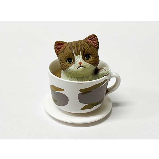 タカラトミーアーツ 猫カップ ミックス キジトラ TC00732